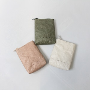 RIM.ARK(リムアーク) Paper like mini pouch 2021春夏物新作