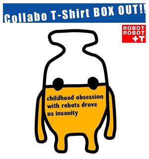 ■デビルロボッツ+ロボットロボット Tシャツ02