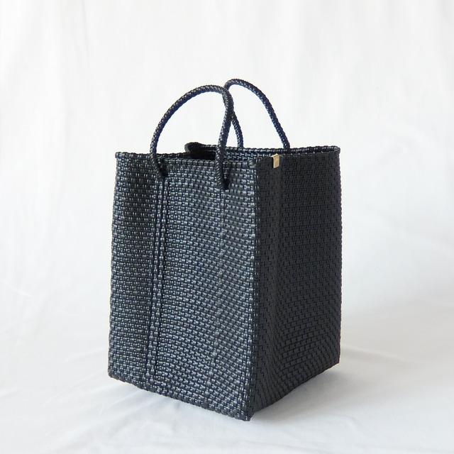 Letra - メルカドバッグ/バケット SHORT HANDLE VER - Black