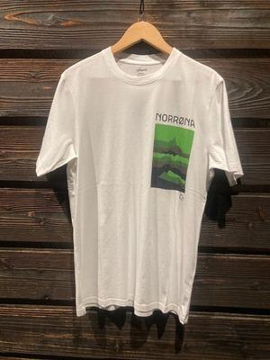 Norrona  cotton mountains T-Shirt  P.White  Sサイズ