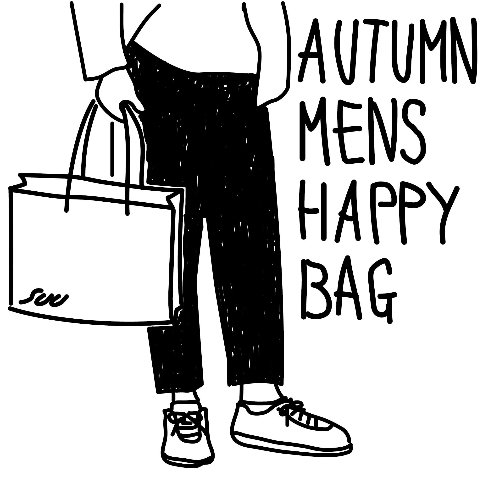 SUU 2021 AUTUMN  HAPPY BAG : Aセット (MENS)