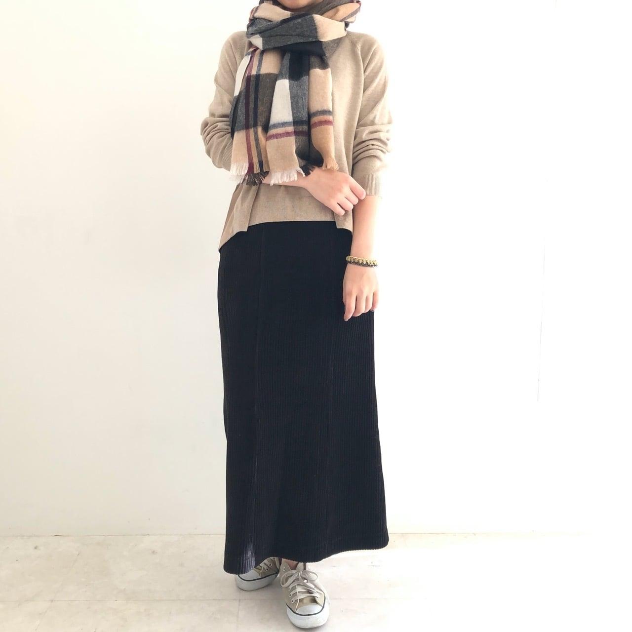 【 ROSIEE 】- 190203 - コーデュロイAラインスカート