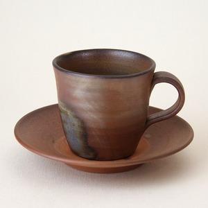 備前焼 コーヒーセット(桟切)