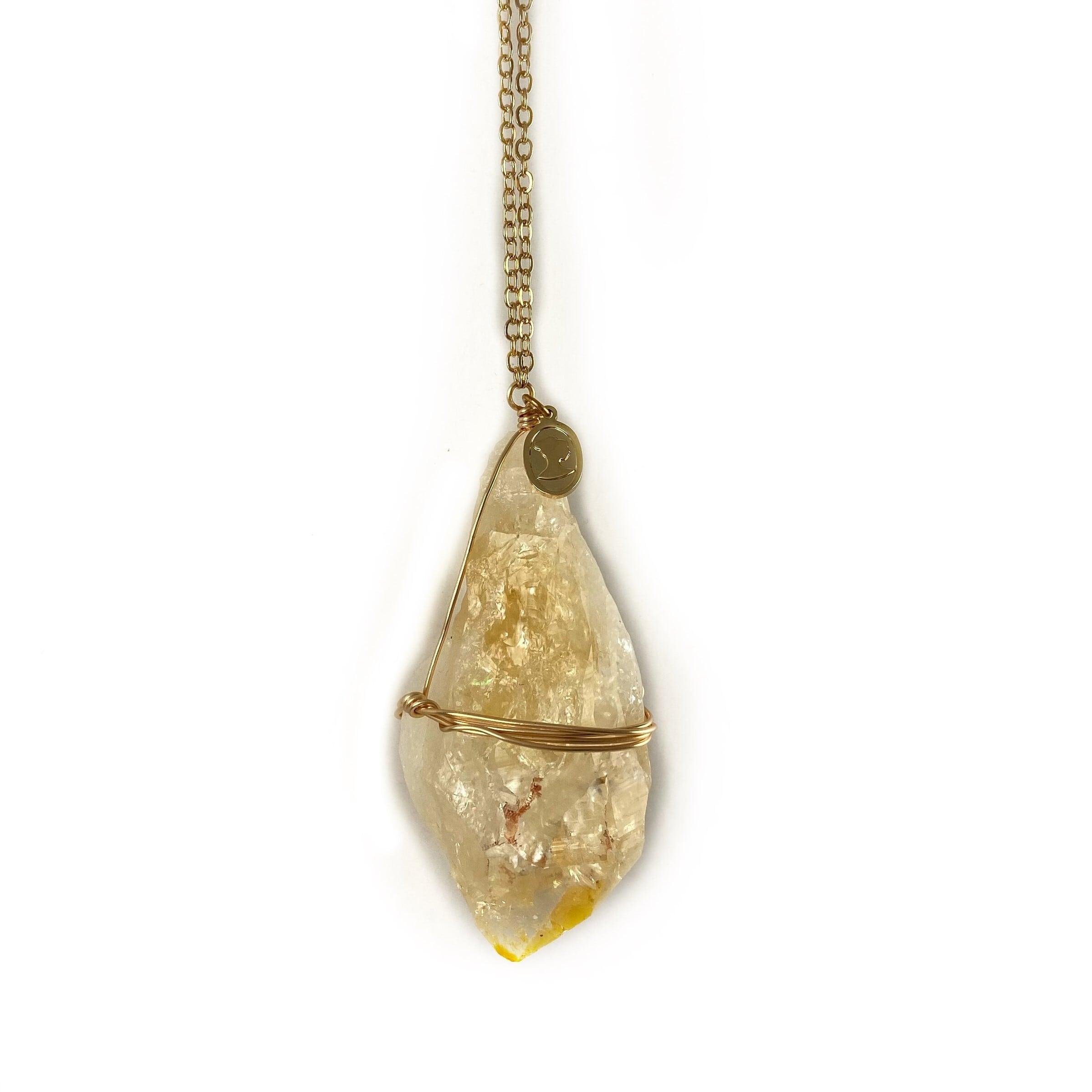 Ariana Ost Healing Crystal Citrine Ornament オーナメント シトリン