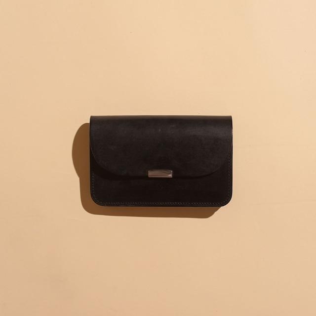 DIGAWEL / GARSON PURSE Bridle leather(BLACK)