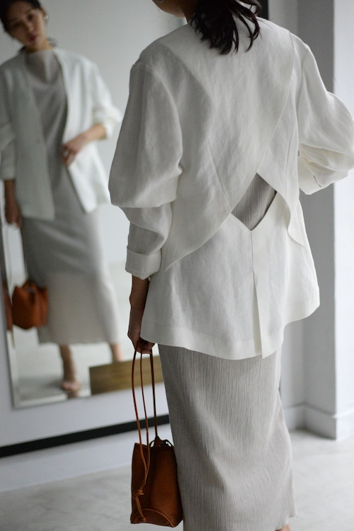 ROOM211 / Linen jacket (white)