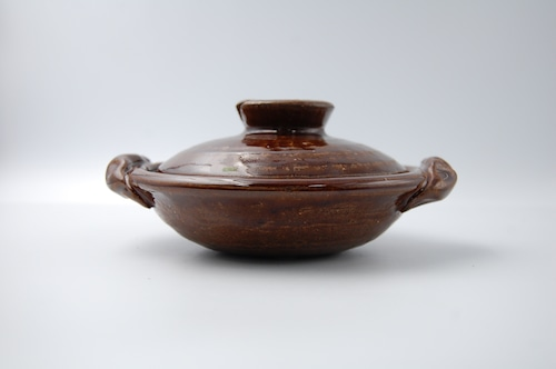 ◆受注生産◆  飴釉柳川鍋