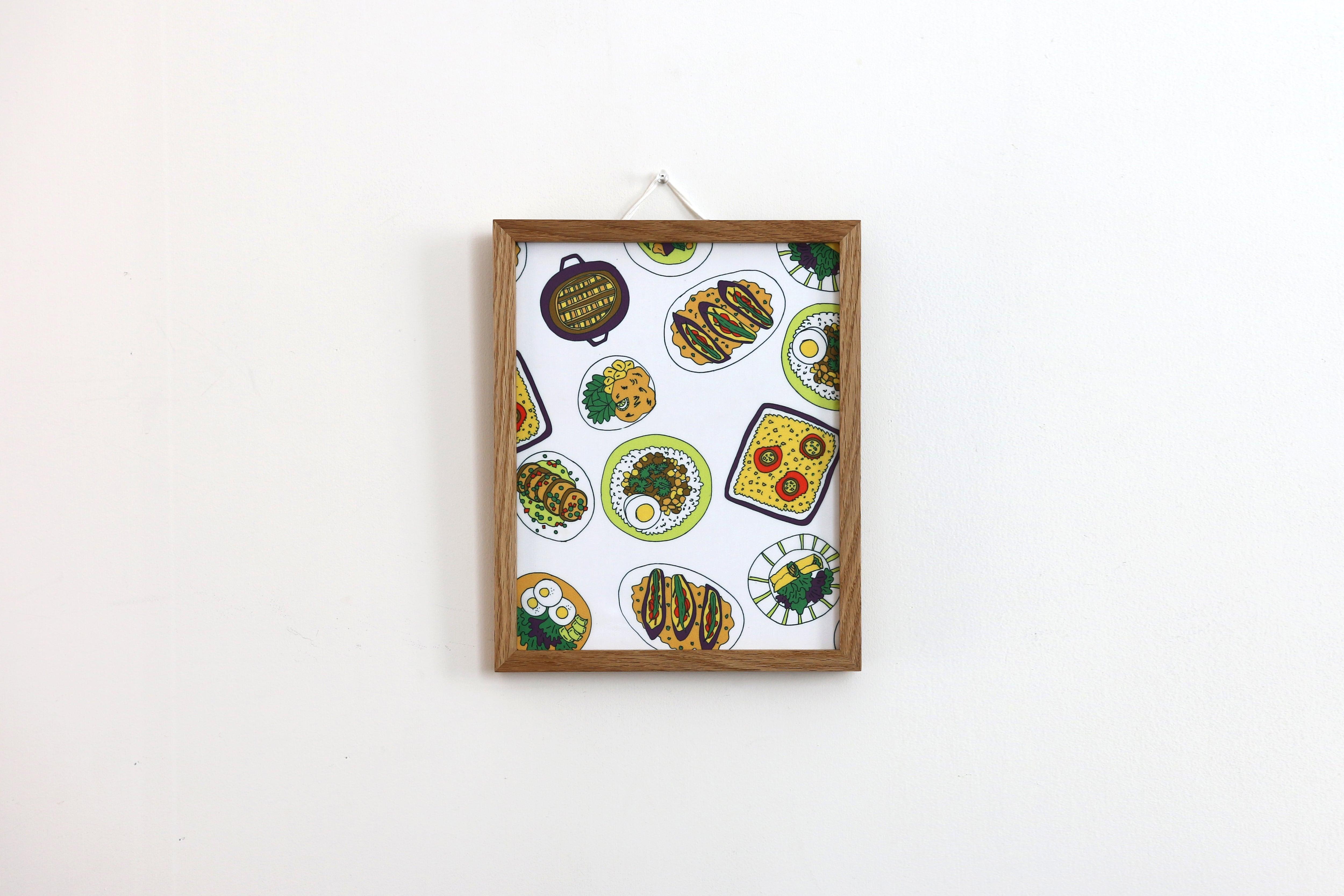 【アートフレーム】Plate menu -Addict-