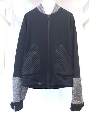 NIGATSU アニマルブルゾン Black 限定生産モデル
