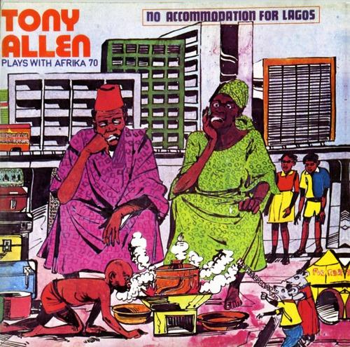 【ラスト1/LP】TONY ALLEN & AFRIKA '70 - NO ACCOMMODATION FOR LAGOS -LP-