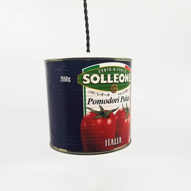 トマト缶を使用したペンダントライト