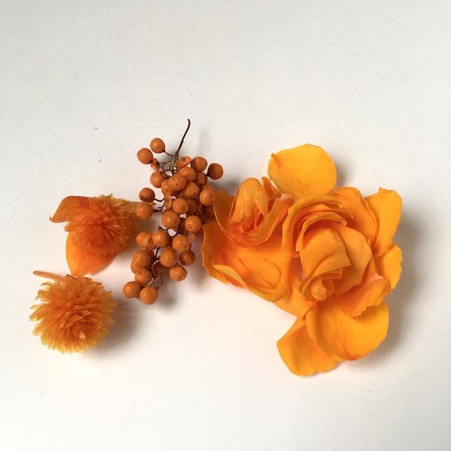 3種類のパーツセット(オレンジ)