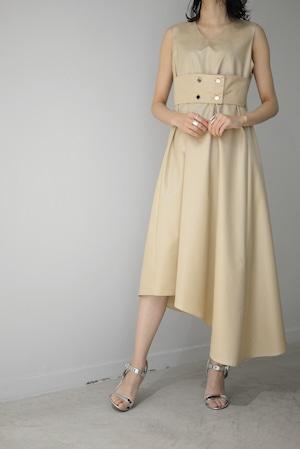 ROOM211 / Belt Dress (beige)