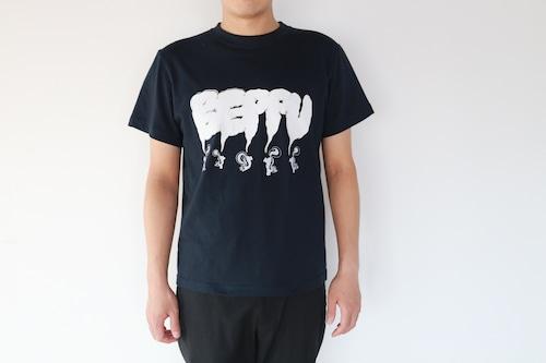 【川崎泰史】 ベップーTシャツ (黒)