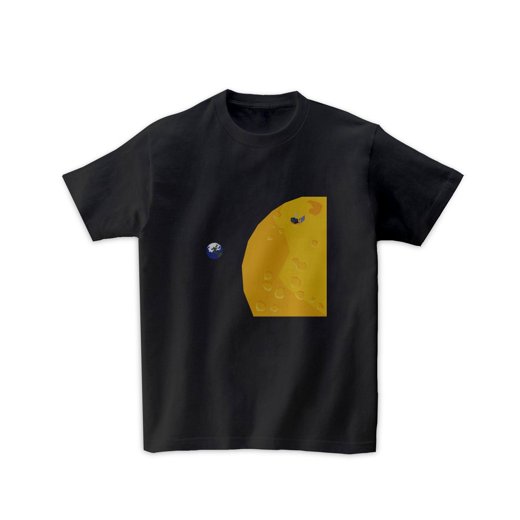 宇宙Tシャツ-月面探査機