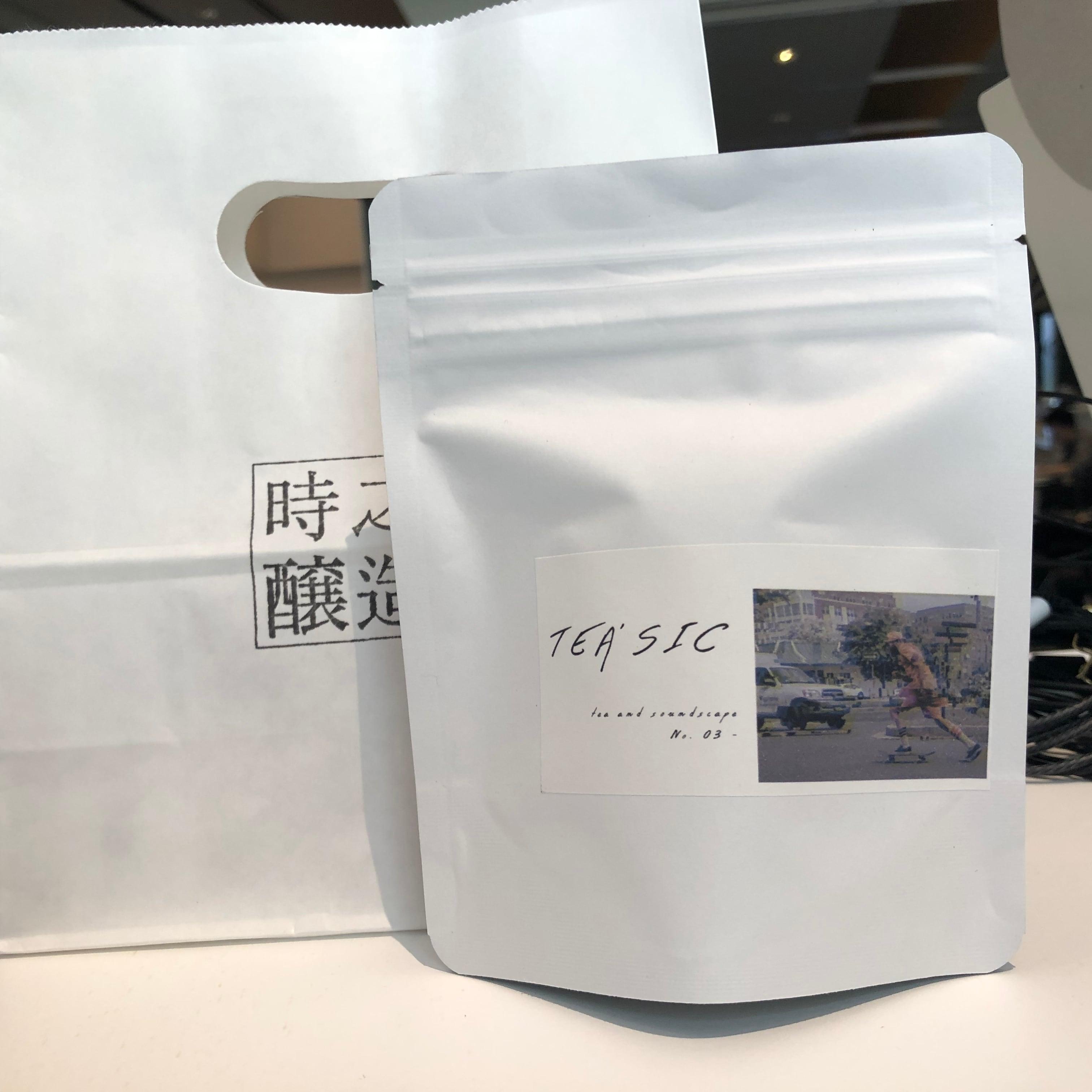 【5pc入り】味わいの音楽付き日本茶TEA'SIC NO.03