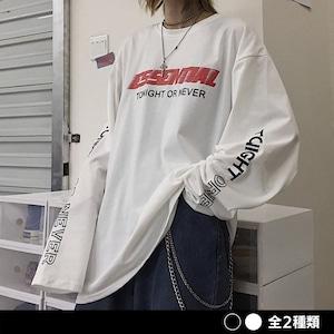 《ランキング8位》ESSENTIALスリーブロゴシャツ(全2色) / HWG299