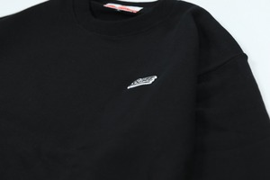 LOGO ONEMILE SWEATSHIRT [BLACK]