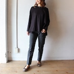 commencement(コメンスメント)/ Gather Long Sleeve Tee(ギャザー ロングスリーブティ)
