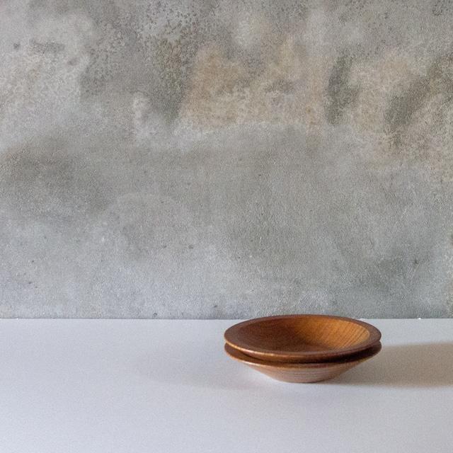 欅の茶托 2set