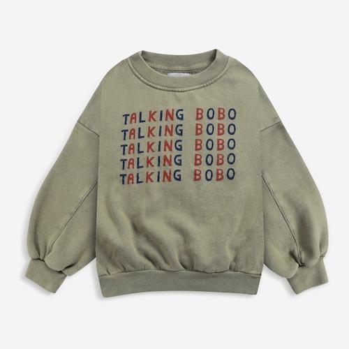 《BOBO CHOSES 2021AW》Talking Talking sweatshirt / 2-11Y
