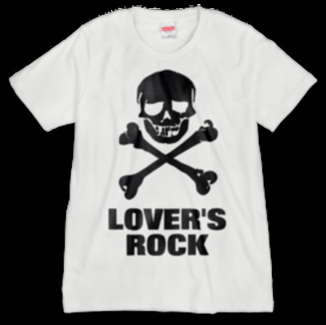LOVERSROCK cross bone/スーパーラヴァーズTシャツ