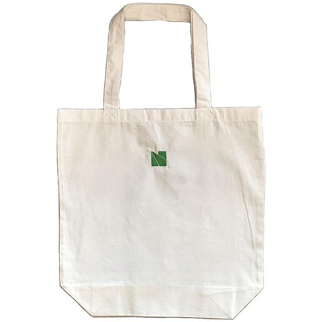 新潟市美術館ロゴ 刺繍入り トートバッグ