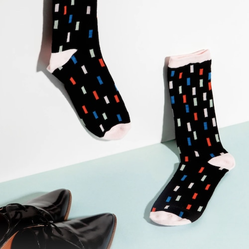 "Poketo ""Cotton Socks in Color Swatch"" unisex ソックス 靴下"