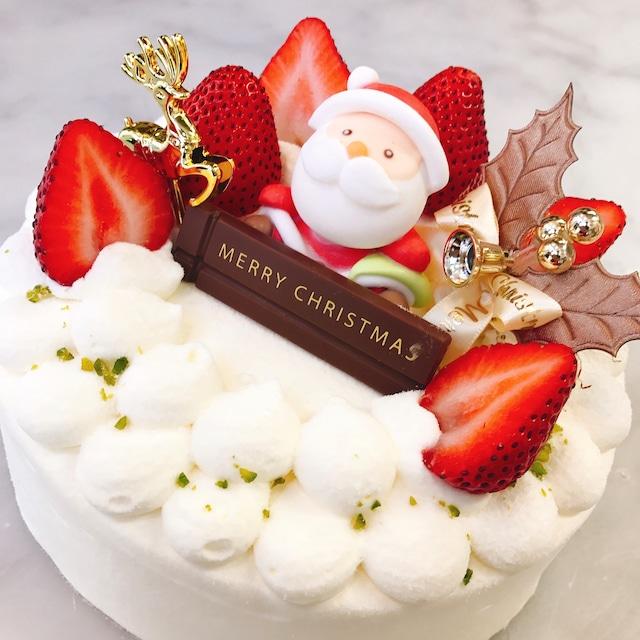 【2021年クリスマスケーキ】杉本都香咲が贈るクリスマスケーキ!苺のショートケーキ5号サイズ【店頭受け取りのみ】