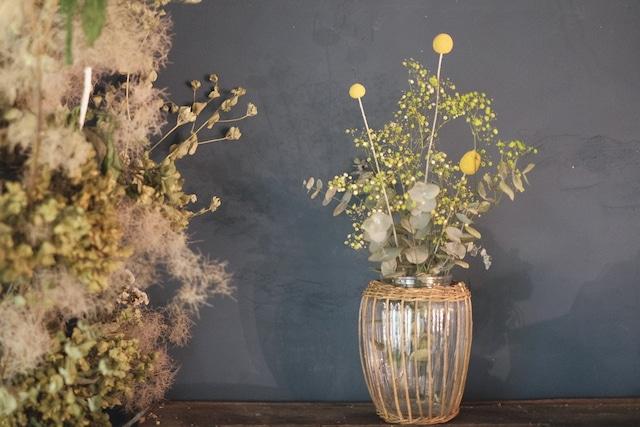 nao様オーダー品 ~花瓶×お花セット