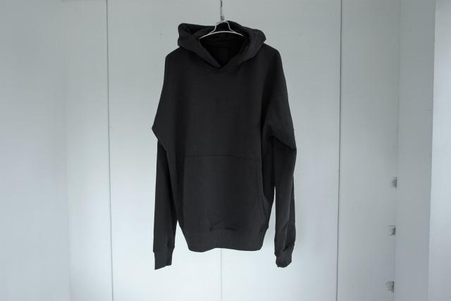 thom krom / Drop shoulder hoodie / BLK