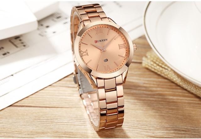 CURREN LT-C9007(rose) レディース腕時計