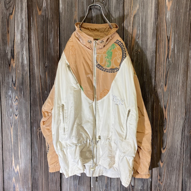 [used]rare  pattern switching jacket