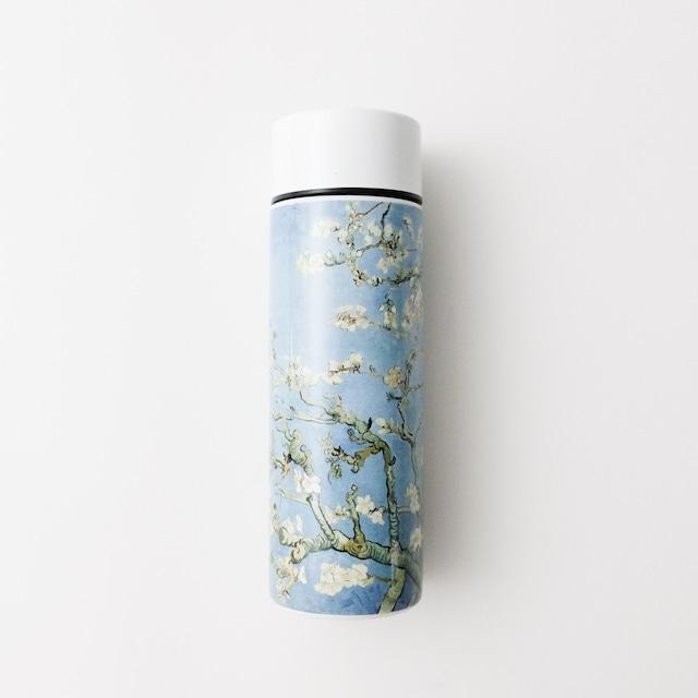 ゴッホ ステンレスボトル 花咲くアーモンドの木の枝