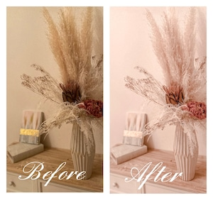 【Luxury gold ラグジュアリーゴールド】おしゃれ 写真加工フィルター Lightroomプリセット