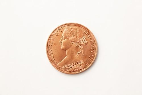 1ペニー ビクトリア 銅貨 レプリカ