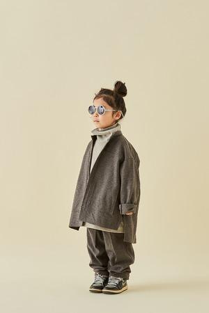 MOUNTEN. cotton tweed pants brown
