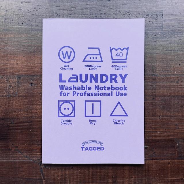 洗えるA5耐洗紙ランドリーノート(ラベンダー・ウキウキノートの中身ノート)
