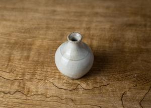 粉引 一輪挿し(小)6/くるり窯