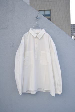 roundabout / L/S Wide Pullover Shirt
