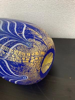 栗原豊生 上越クリスタルガラス花瓶