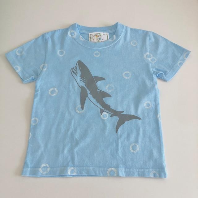 受注制作 kidsTシャツ「サメ&マッコウクジラ」80cm~140対応