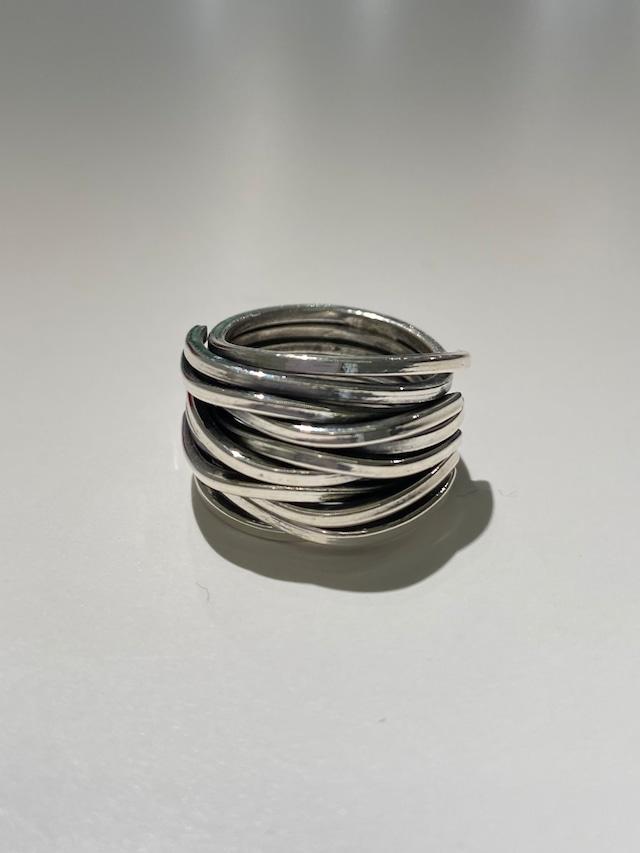 ring silver925 7号