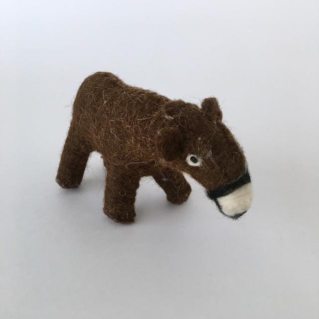 Wool Felt Bear 羊毛フェルトのクマ