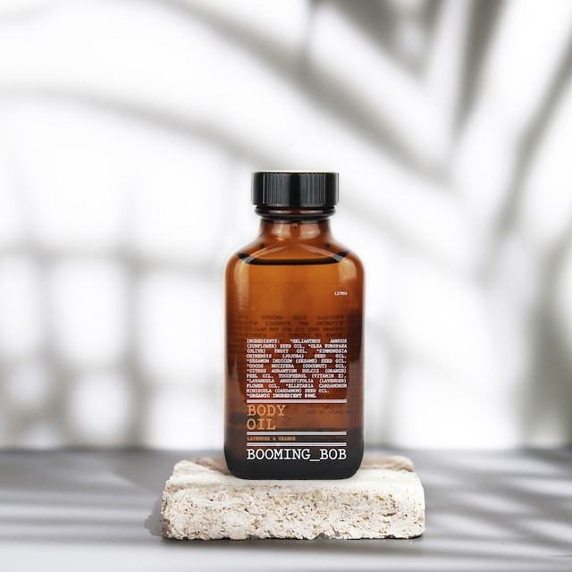 """ BOOMING_BOB organic Body oil / ブーミングボブ オーガニックボディオイル【ラベンダー&オレンジ】89ml """