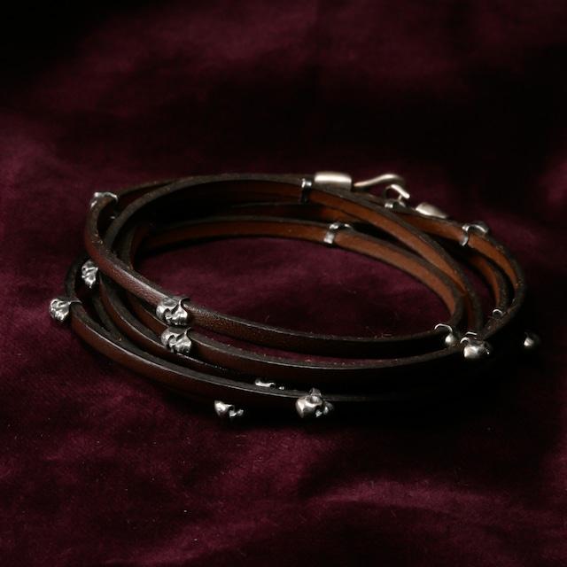 Small Skull Beads Bracelet