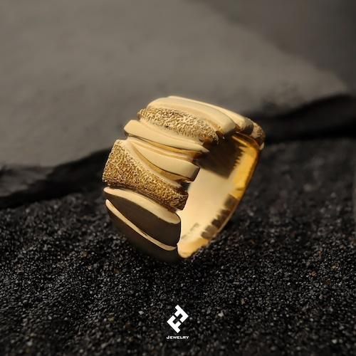 +piedras・リング (gold)