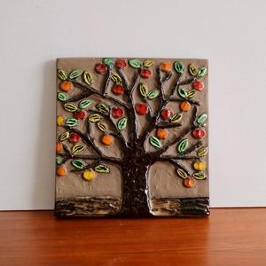 [SOLD OUT] Jie Gantofta ジィ・ガントフタ / 陶板 赤い実の木