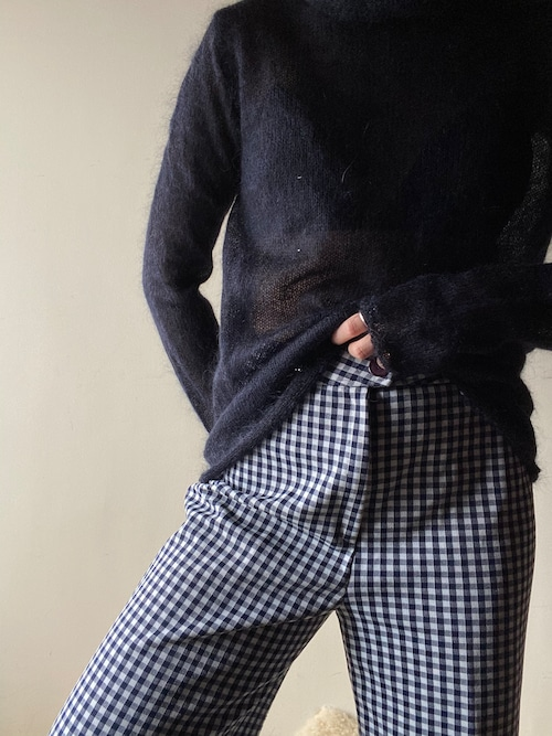 60-70s Plaid Pants