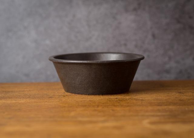 SHIROUMA 鉢 15cm 黒(煮物鉢・スープボウル・汁碗)/長谷川 哲也